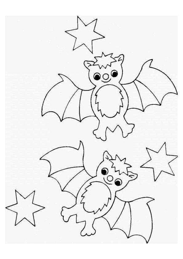 Les 543 meilleures images du tableau coloriages et - Dessin de chauve souris d halloween ...
