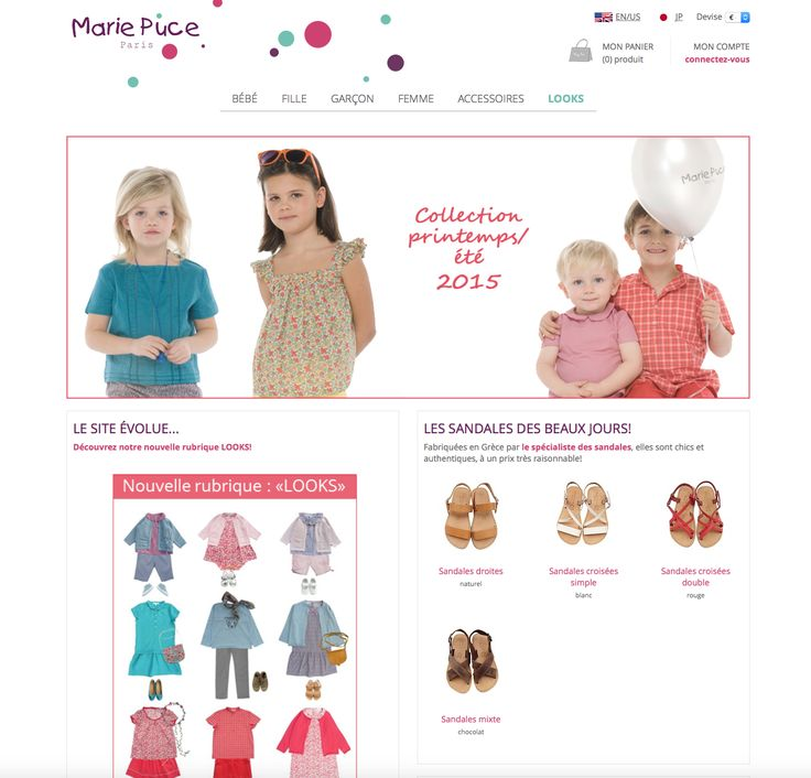 http://www.mariepuce.com/fr/  French classic clothing brand for children
