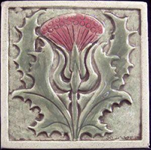 Art Deco Tishtle tile