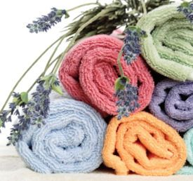 Make your own Fabric Softener....tips for a dryer sheet.