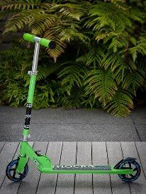 For Kids: Green Zed Scooter  #kids #scooter #brightgreen