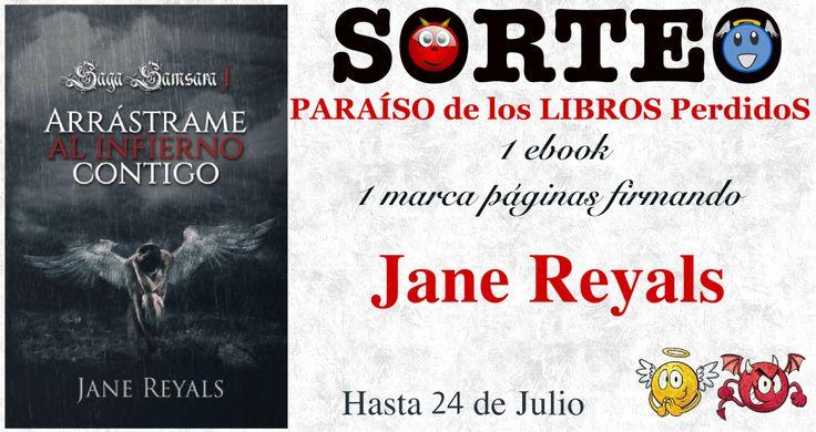 Y el último sorteo de este mes de Julio nos lo ofrece Jane Reyals. ¿Aún no has leído Arrástrame al infierno? Pues aprovecha la ocasión y participa. El sorteo es internacional y se separan las dos c…