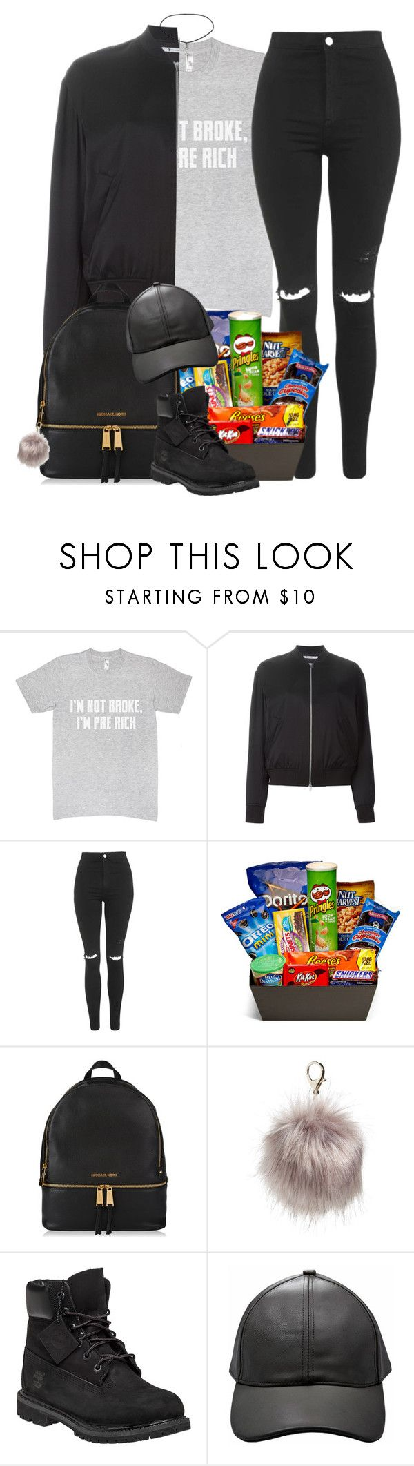 """""""Diplo X CL x RiFF RAFF x OG Maco – Doctor Pepper"""" by alicehite ❤ liked on Polyvore featuring T By Alexander Wang, Topshop, Junk Food Clothing, Nila Anthony, Timberland, black and cl"""