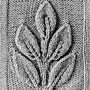 Knitting Pattern Square No. 23, Volume 34; Links to a great collection of patterns at the bottom of the page