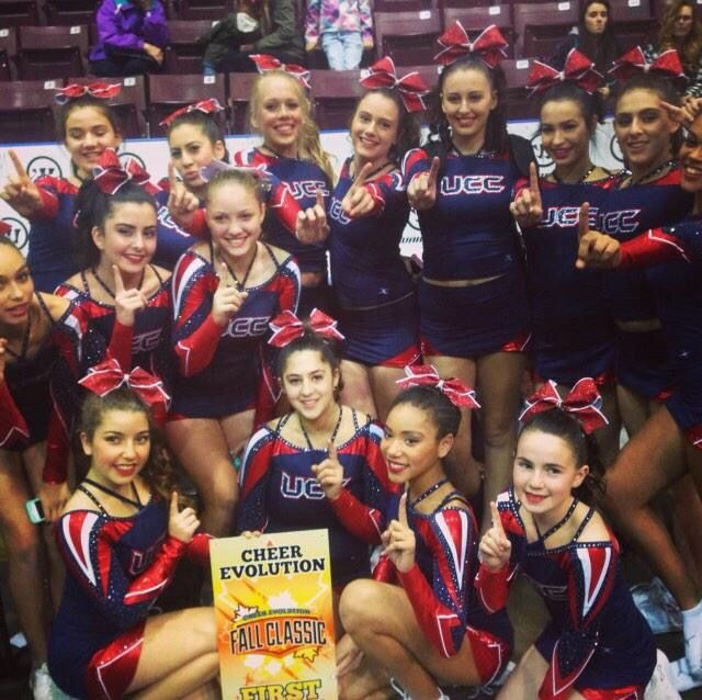 Ultimate Lions Fall Classic Champions! www.ultimatecheer.ca