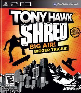 Tony Hawk Shred Board Bundle - PS3 Game