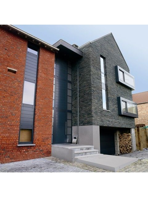 54 best images about gevel on pinterest boss photos and bricks - Moderne huis gevel ...