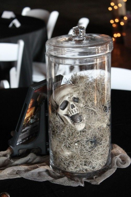 Halloween Wedding Centerpieces | 31 Beautiful Halloween Wedding Centerpieces | Weddingomania