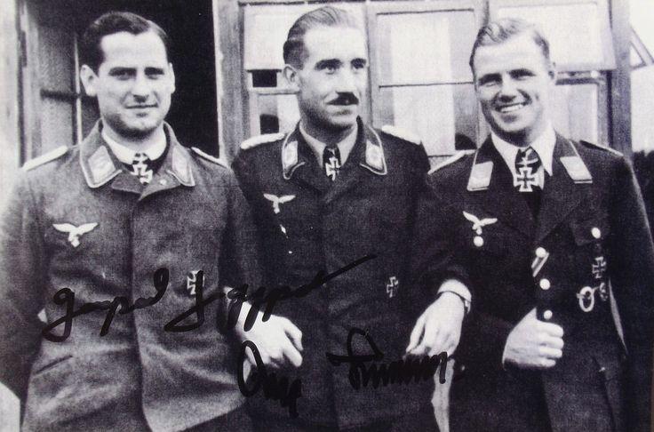 Gerhard Schopfel, Adolf Galland and Muncheburg