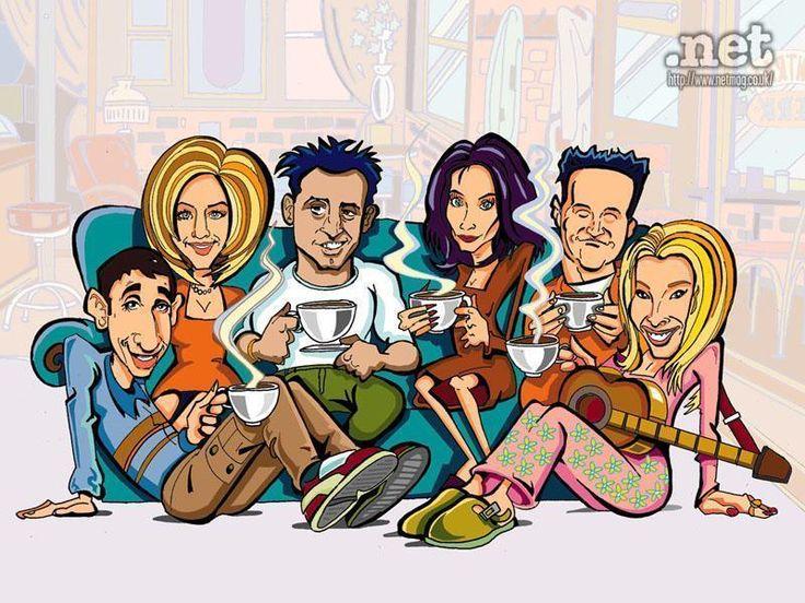 Friends caricature lol