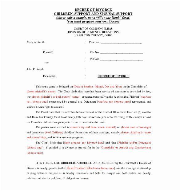 Template For Separation Agreement Unique 12 Divorce Agreement Templates Pdf Doc Separation Agreement Template Divorce Agreement Divorce