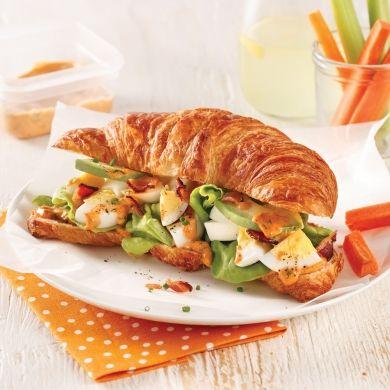 Sandwich aux oeufs - Recettes - Cuisine et nutrition - Pratico Pratique
