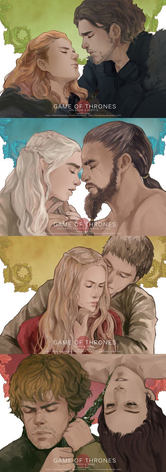 Game of Thrones 'LOVE' by maorenc on DeviantArt