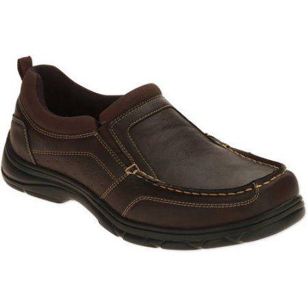 Wrangler Men's Memory Foam Slip On Shoe, Size: 9, Brown