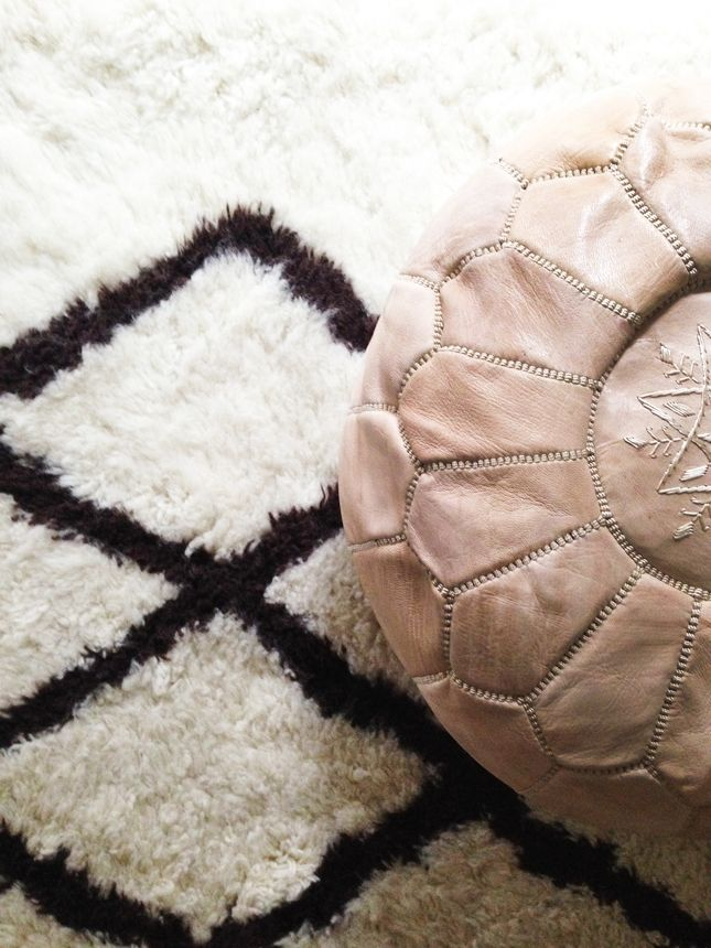 Featuring Rugs USA Tuscan Modern Moroccan Shag Ivory Rug ...