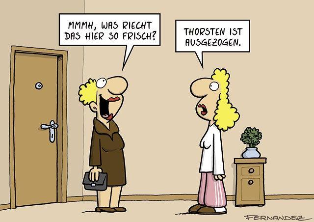 Cartoon Buch - Humor   STERN.de #hwg #fernandez #gegenDenStrich