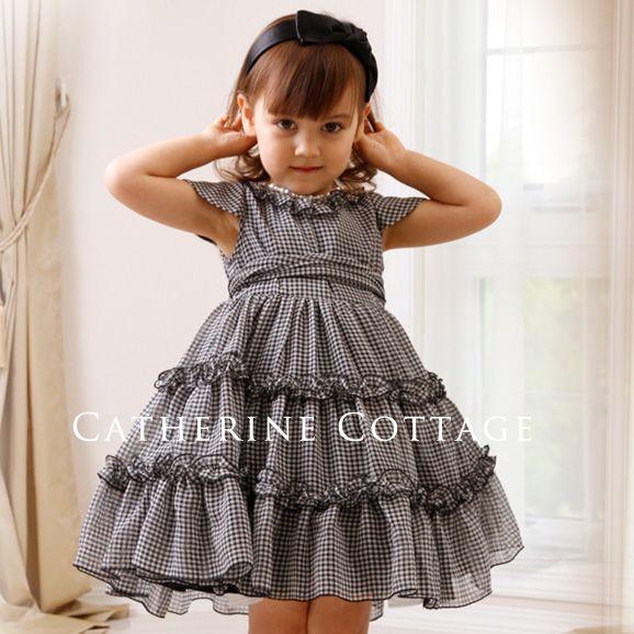 子供ドレス ギンガムチェックワンピース アリスコレクション ウエディング、発表会、入学式にも【楽天市場】