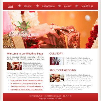 Wedding Websites Themes India