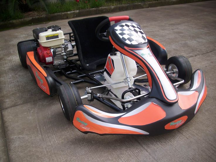 Looks awesome. Personally, don't like the colours; but the kart looks like a warrior on the track.