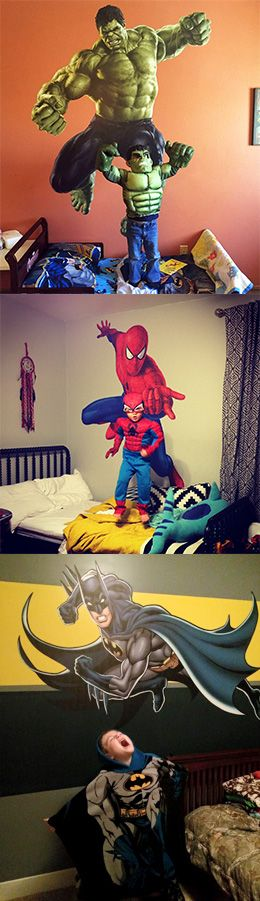 Give them the gift that causes uncontrollable excitement from the moment it is unwrapped with a Fathead wall decal!