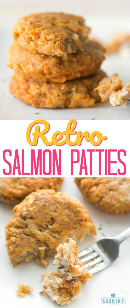 Retro Salmon Patties recipe from The Country Cook