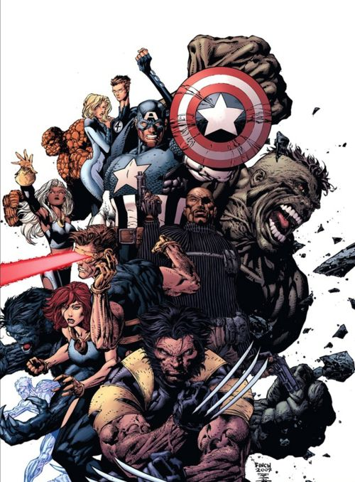 Ultimate Marvel by David Finch. Check out Pete's review of Andy Schmidt's The Insider's Guide To Creating Comics and Graphic Novels here: http://chaptersandscenes.wordpress.com/2014/03/16/pete-reviews-the-insiders-guide-to-creating-comics-and-graphic-novels/