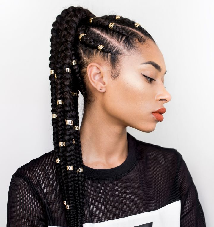 10 Protecting Coiffure Concepts #braids #coiffure #tresses