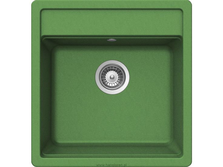 Nemo N-100 S A Schock zlewozmywak granitowy 490x510 peppermint green - NEMN100SAGPP http://www.hansloren.pl/pl/c/Nemo/2661