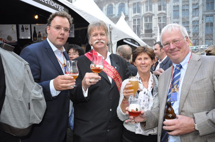 Dale Tiffany Gulden Draak World Ambassador 2012 at the Belgian Beer Weekend