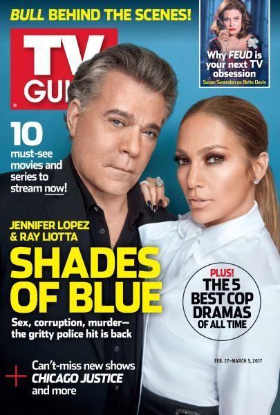 Ray Liotta, Jennifer Lopez - TV Guide Magazine Cover [United States] (27 February 2017)