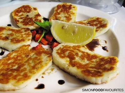 Haloumi Cheese!  Delicious ; )
