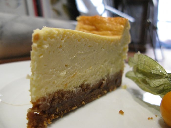 NY CHEESECAKE IN CHEESE COUNTRY