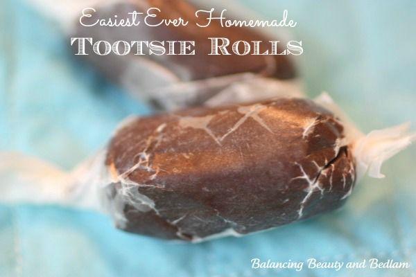 Easiest Ever Homemade Tootsie Rolls