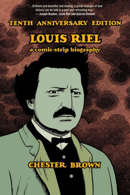 This special tenth anniversary edition of Chester Brown's Louis Riel features rare supplementary material, including early cover art from the original serialization, pencil studies and draft scripts, poster and catalogue art, and a new essay by critic Sean Rogers.