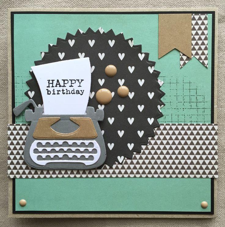 LindaCrea: Typemachine #3 - Happy Birthday