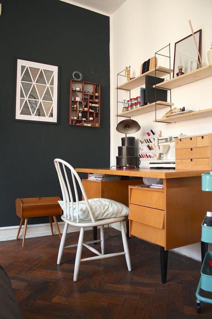 Une semaine sur Pinterest #20 : jolis bureaux