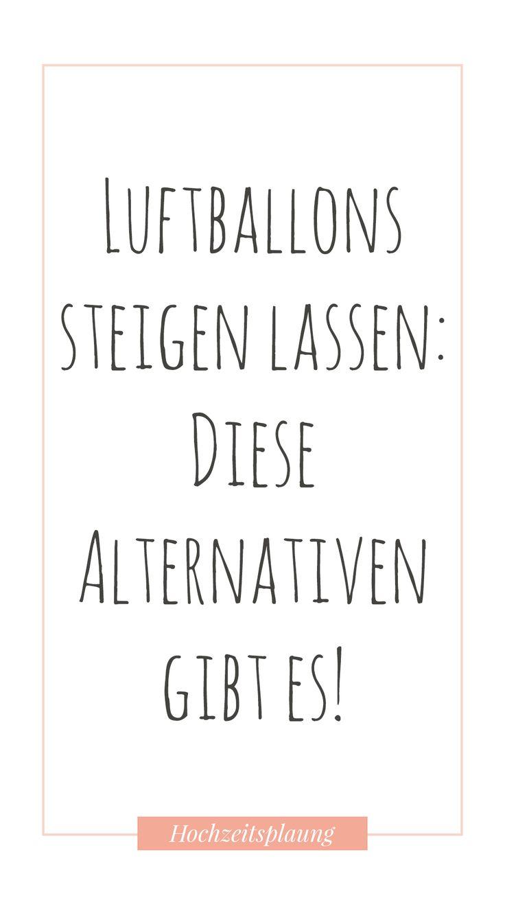 Luftballons steigen lassen: Diese Alternativen gibt es!