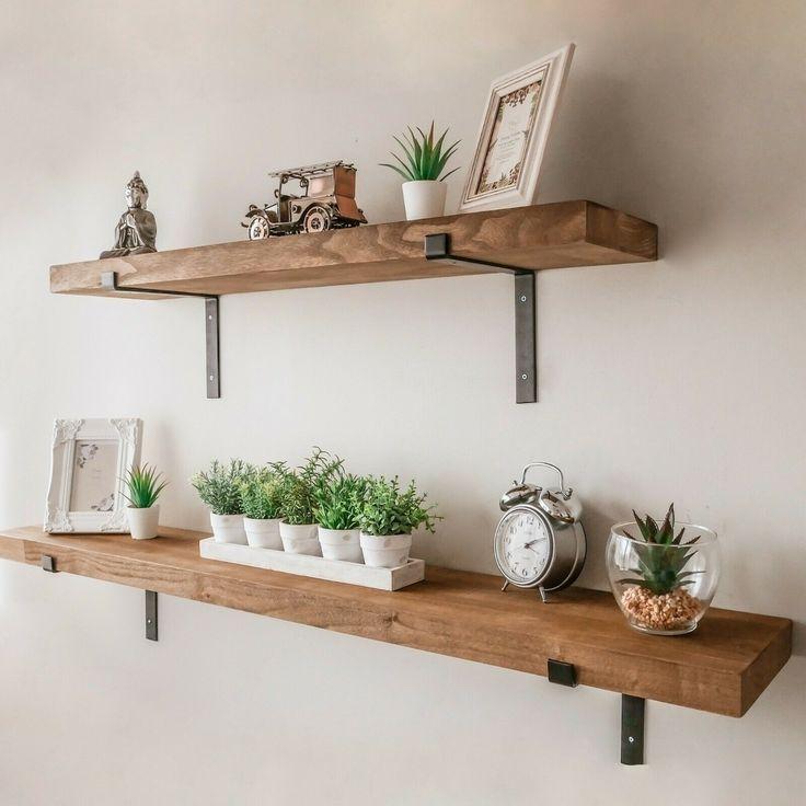 Impressive Diy Hanging Shelves Craft Coral Shelf Decor Living Room Rustic Wall Shelves Shelf Decor Bedroom #shelf #designs #in #living #room