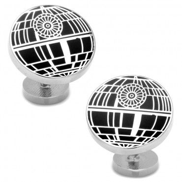 The men who shine are usually the well dressed and groomed. What you wear and how you wear it adds to the classiness look which creates an aura of supremacy. Purchase your first star wars cufflinks, starting with a distinguishing pair of Recessed Matte Death Star Cufflinks.