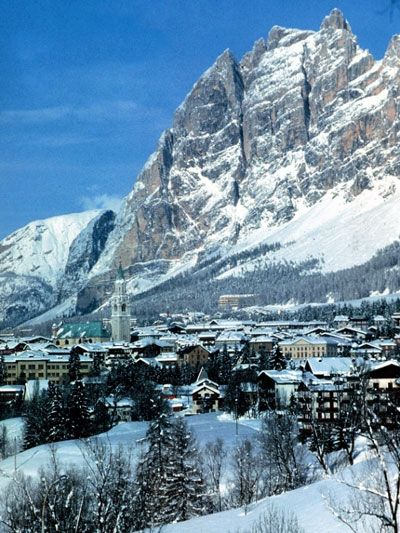 One of the best places I've ever been skiing....Cortina, Italy