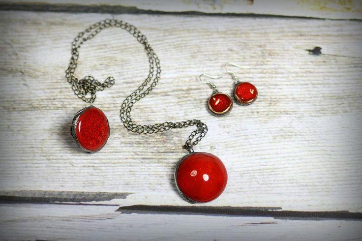 Ognista czerwień w Melerart na DaWanda.com