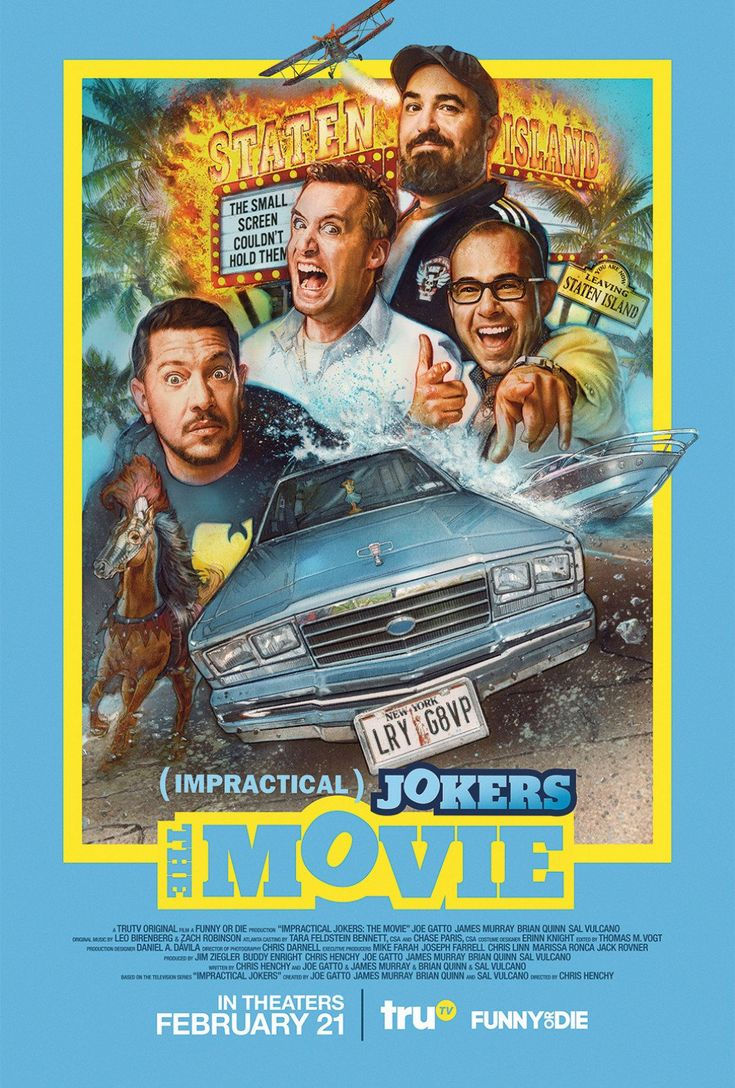 """Impractical Jokers The Movie"" Movie Review in 2020"