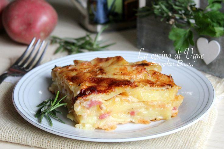 Parmigiana+di+patate+con+speck+e+scamorza