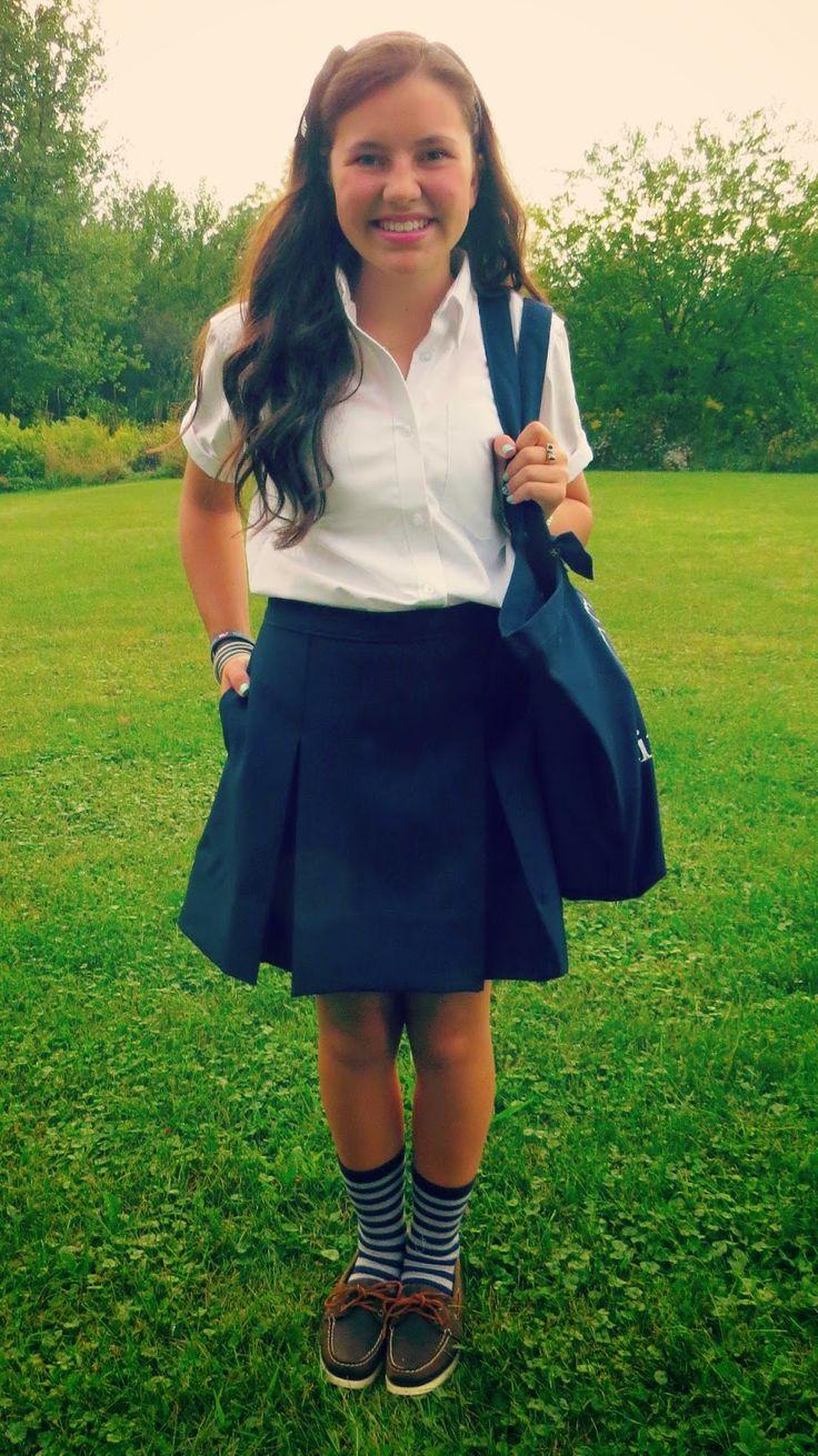 Belleoftheball45: Styling my School Uniform & A Look at My Supplies (back to school series)