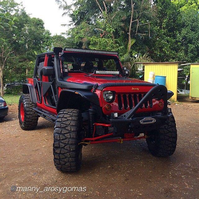 """by @manny_arosygomas """"Built by AROS Y GOMAS """" #jeepbeef #jeep  www.jeepbeef.com #Padgram"""