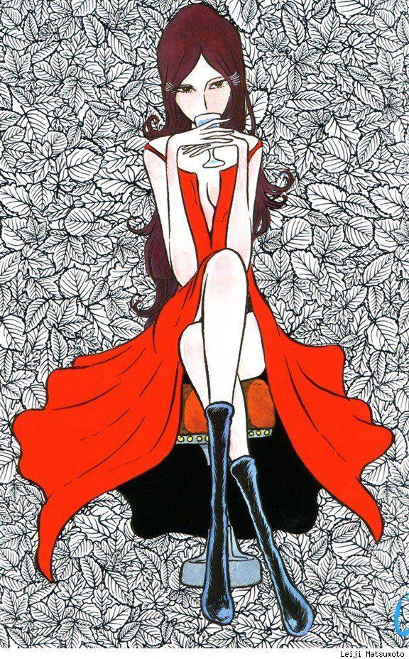 Art by Leiji Matsumoto