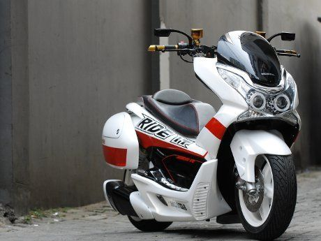 Honda PCX 125 | MotorCycle & Scooter | Pinterest | Honda, Scooters and Scooter motorcycle