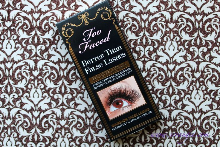 Too Faced Better Than False Lashes Nylon Lash Extension System . . . . . Life-changing product, for serious.: Nylons Lashes, Fal Lashes, Too Faces, Faces Mascaras, False Lashes, Lashes Extensions, Lashes Nylons, Favorite Mascaras, Beautiful Products