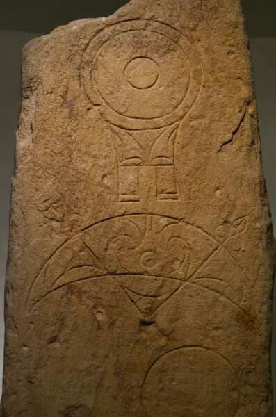 Pictish stones 600-800 BC, The National Museum of Scotland