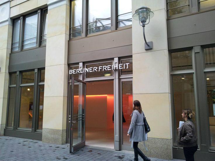La location berlinese Berliner Freiheit in Potsdamer Platz, dove si terrà l'Evento Internazionale Rethinking the Product 2013 (11 - 13 Dicembre 2013)